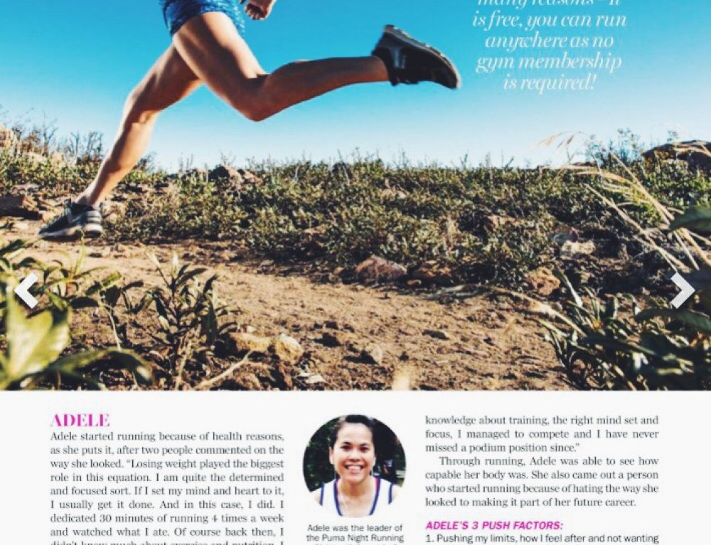 Marie Claire – Run a Mile in My Shoes, April 2016